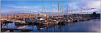 Фотокартина  «Панорама Балтимора» 60 х 190 см