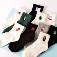 Ассорти носки с рисунками разные Lady Victory KF-1917007002