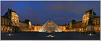 Фотокартина «Панорама Лувра» 60 х 150 см
