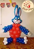№30 Заяц из воздушных шаров Днепр, фото 1