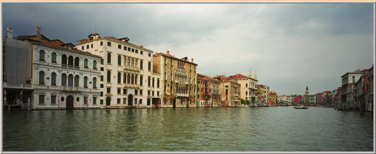 Фотокартина «Панорама Венеции» 60 х 150 см