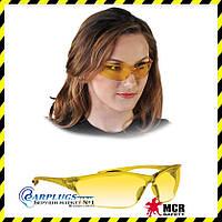 Очки защитные MCR LAW (желтые линзы), США.