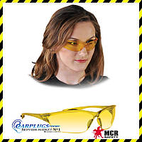 Окуляри захисні MCR LAW (жовті лінзи), США.