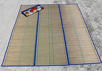Пляжный коврик -сумка соломенный +фольга. Разные размеры