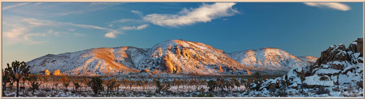 Фотокартина «Панорама. Уистлер. Канада» 60 х 230 см