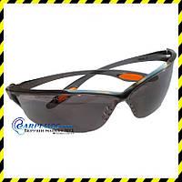 Очки защитные MCR LAW (темные линзы), США.