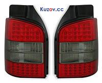 Тюнингованные фонари LED задние Volkswagen Transporter T5 03-09 комплект (DEPO) 1 дверь