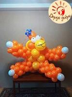 №33 Обезьяна из воздушных шаров Днепр, фото 1