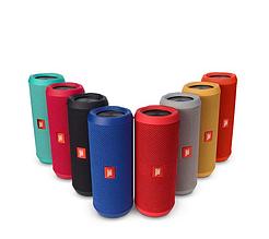 Колонка портативная беспроводная JBL Flip 3, влагозащитная Bluetooth акустика