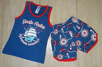 Пижамный комплект летний для мальчика