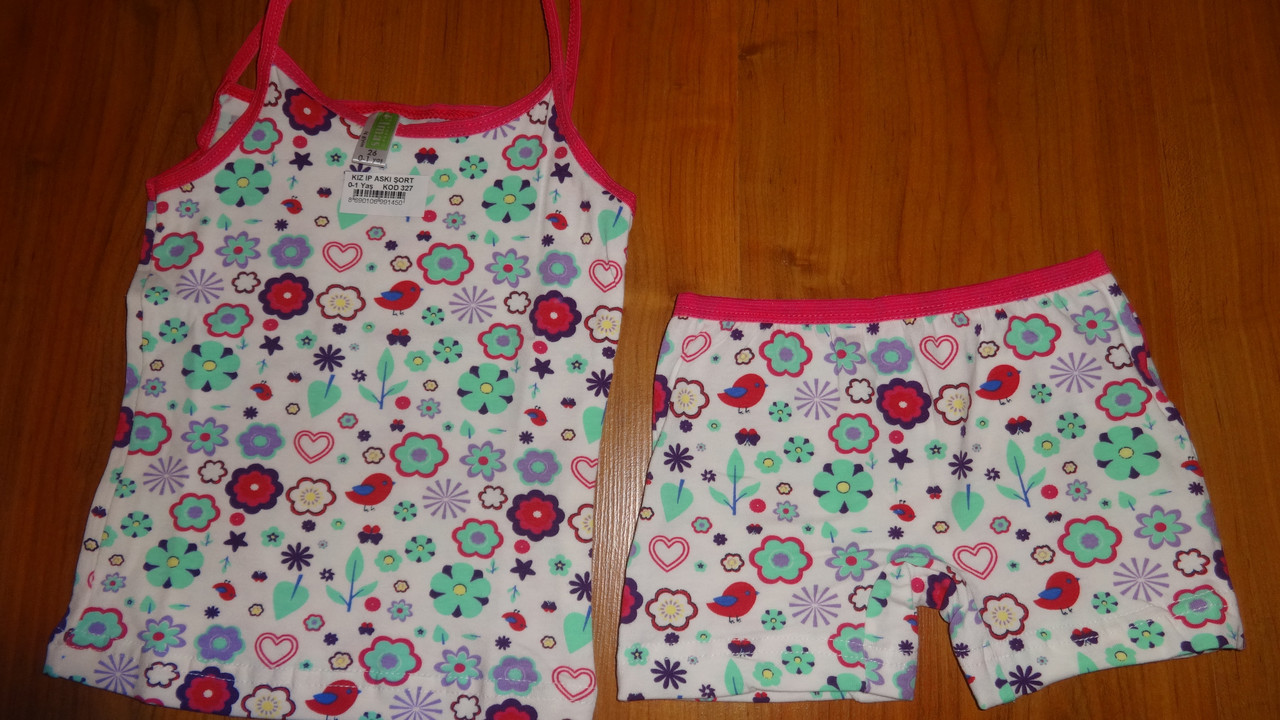 Детский комплект нижнего белья для девочки