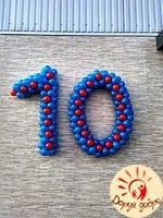 №38 Цифры из воздушных шаров Днепр