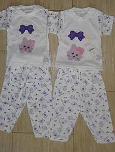 Пижама Бантик для маленьких 3 и 6 мес