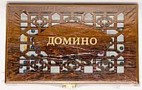 Домино в деревянной шкатулке