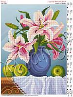 Схема для вышивания бисером Букет из лилий