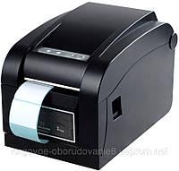 Универсальный термопринтер этикеток и чеков Xprinter XP-350B Гарантия!