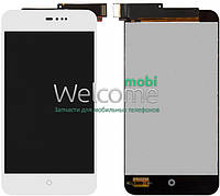 Дисплей Meizu MX2 with touchscreen white orig
