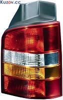 Фонарь задний Volkswagen Transporter T5 03-09 левый (DEPO) 2 двери, красно-желтый 441-1978L-UE