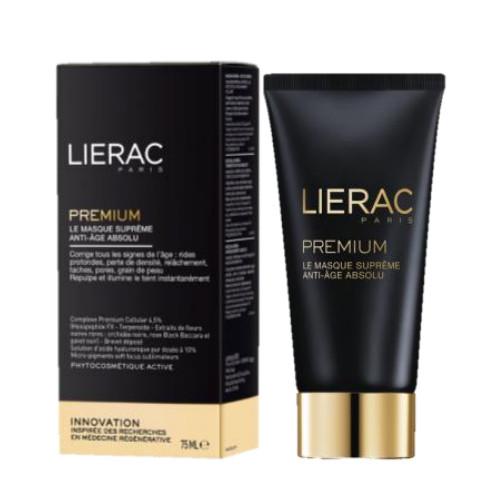Маска с гиалуроновой кислотой Lierac Premium Le Masque Supreme Anti-Age Absolu 75 мл