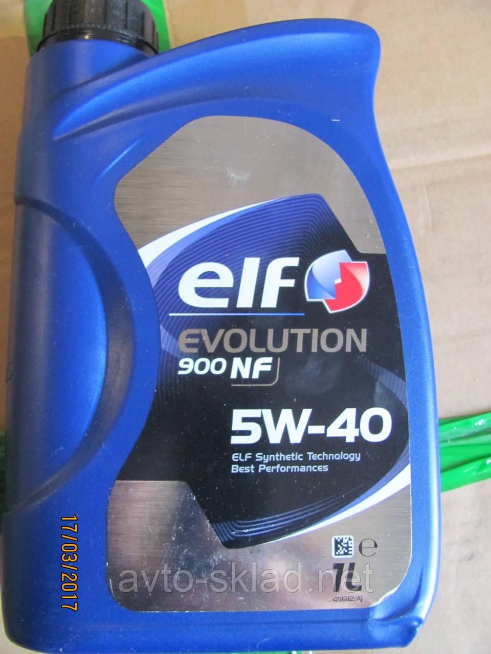 Масло ELF Evol NF 1л 5W40 (синтетика)