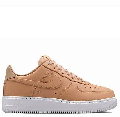 Кроссовки женские NikeLab Air Force 1 Low Vachetta Tan White (Найк Аир  Форс, реплика) e6190c9a001