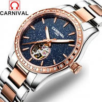 Женские часы Carnival Lady VIP механические с автоподзаводом звездное небо