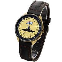 Позолоченные часы Ракета 24 часа Флот -買い腕時計ソ