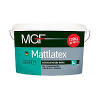 Краска латексная  MGF M100  Mattlatex 14 кг