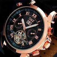 Мужские часы Jaragar Turboulion механические с автоподзаводом маятник «Турбиллион»