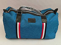 Спортивная сумка тканевая под джинс, унисекс