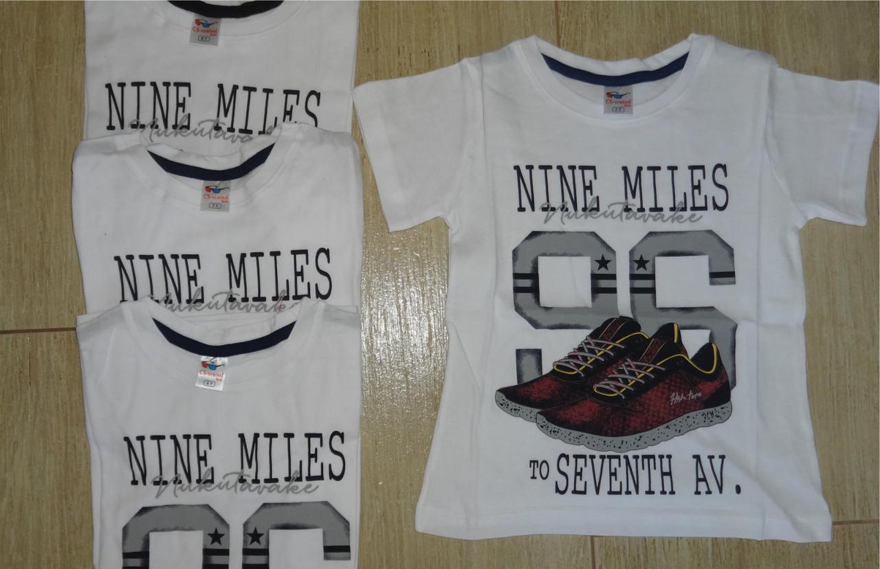 Летние футболки на мальчика