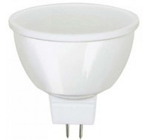 Светодиодная лампа Biom ВТ-541 MR16 7W GU5.3 3000K матовая