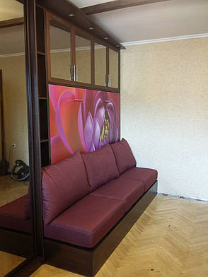 Шкаф кровать горизонтальня, фото 2