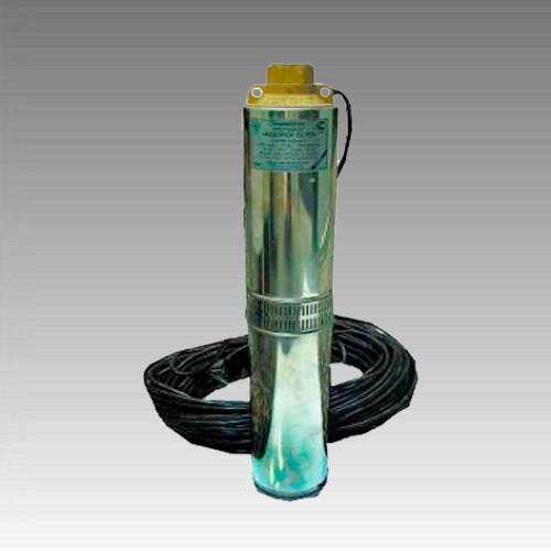 Погружной насос Водолей БЦПЭ -1,2-25У (Бытовой); 4,3-9,4 м.куб/ч; h=25 м; Ø105мм