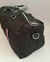 Спортивная сумка тканевая под джинс черного цвета, фото 3