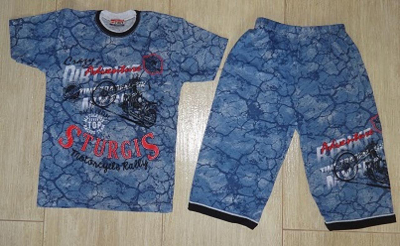 Комплект футболка и бриджи