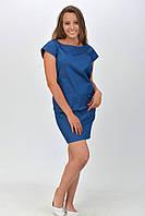 Джинсовое платье с карманами размер 34, 36, 38, 40, 42.