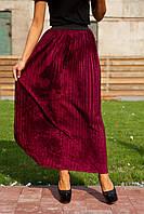 Стильная женская юбка плиссе