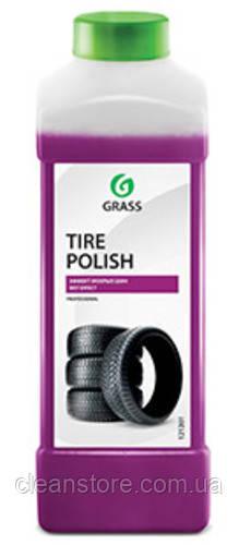 """Полироль чернитель шин Grass """"Tire Polish"""", 1л."""