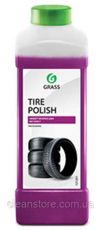 """Полироль чернитель шин Grass """"Tire Polish"""", 1л., фото 2"""