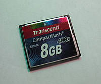 Карта памяти Compact Flash Transcend 8Gb 400x