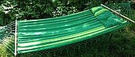 Гамак Big с подушкой 220 х 160 см зелёный