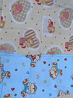 Детское постельное белье для кроватки,Мишки, два цвета