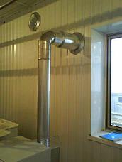 Колено для дымохода 90 AISI 304, фото 2