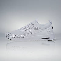 aa822f444f62 Оригинальные женские кроссовки Nike Air Max Thea Print white   white-black