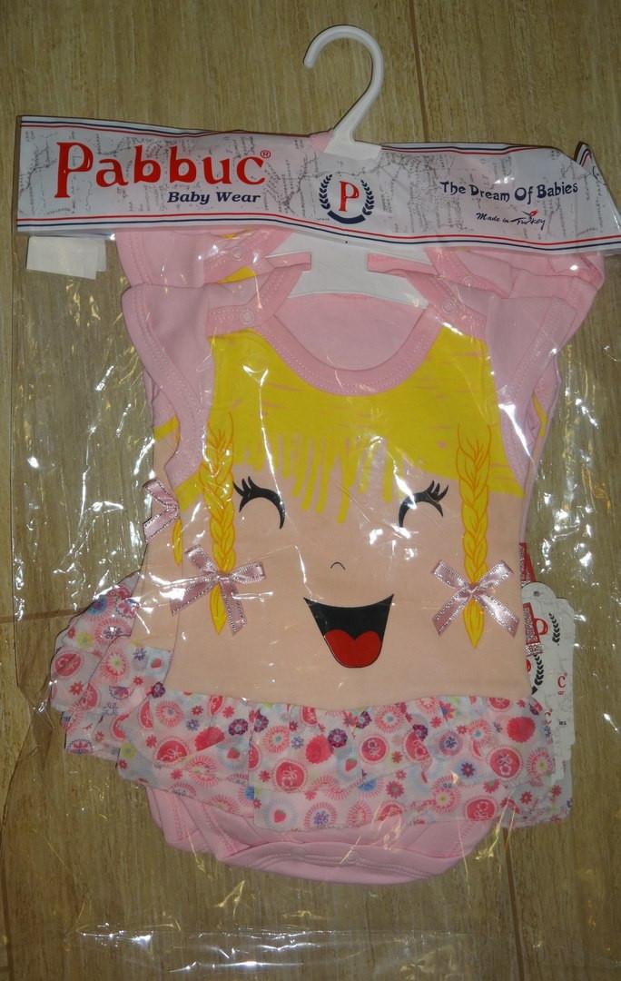 Бодик-девочка с косичками