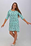 Летнее платье-туника размер 36, 38, 40, 42, 44.