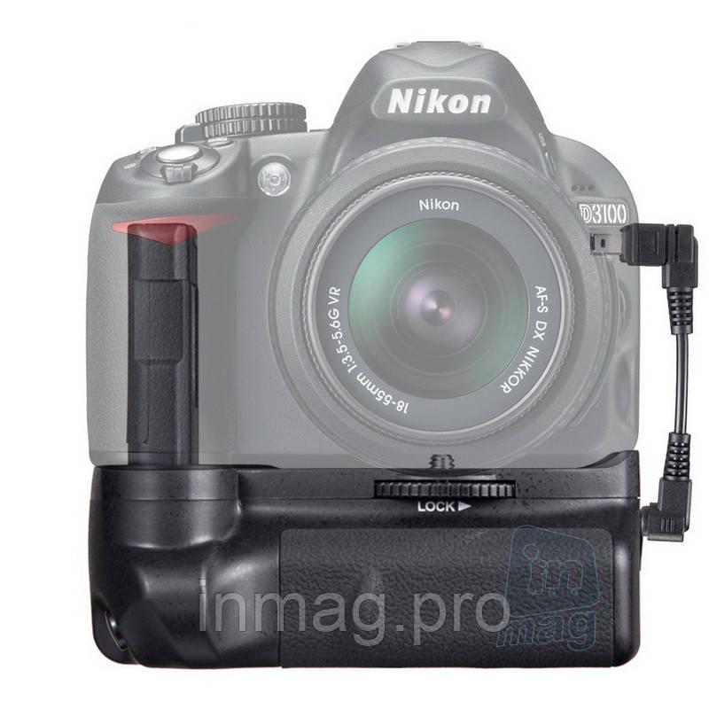 Батарейный блок MB-D31 для Nikon D3100, D3200, D3300 + кабель.