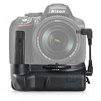 Батарейный блок MB-D51 для Nikon D5100, D5200, D5300 + кабель + пульт ДУ.