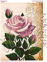 Схема для вышивания бисером Красочные розы